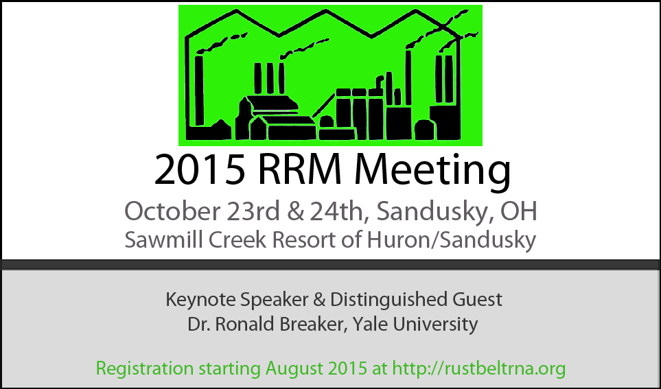 2015 RRM Save the Date notice