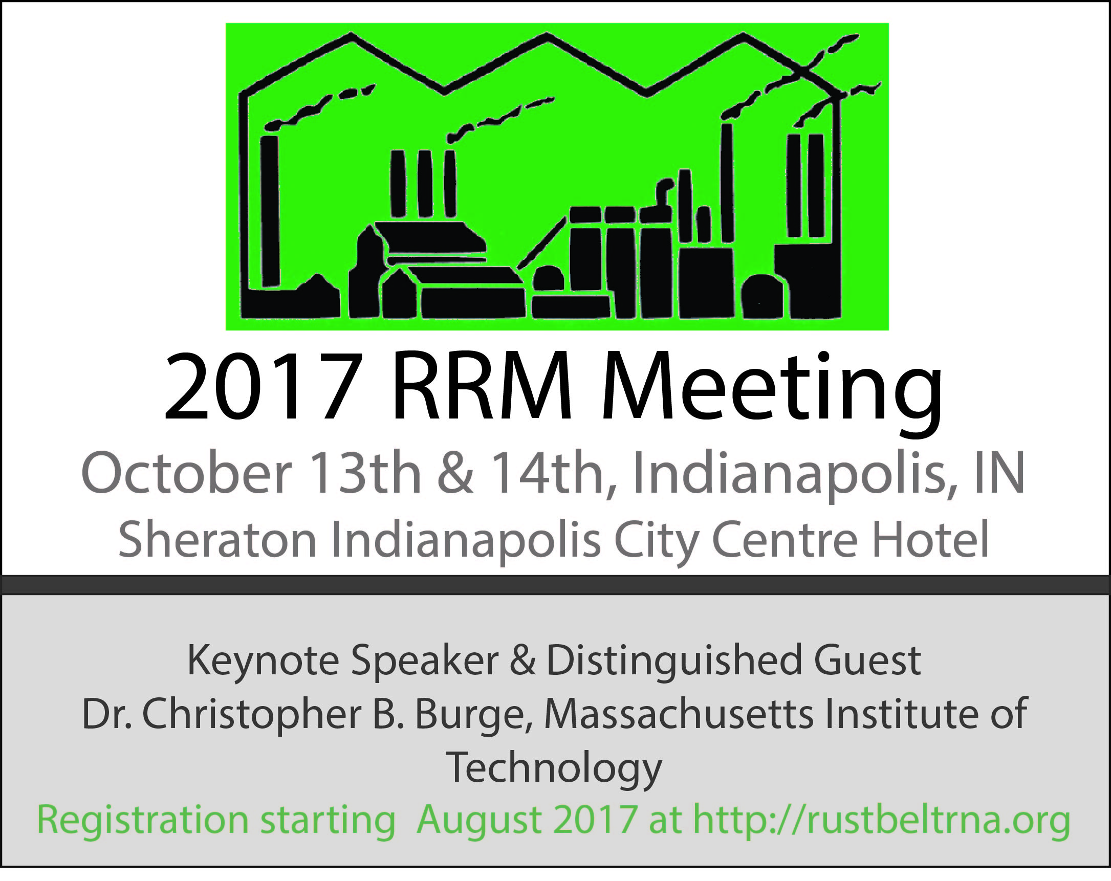 2017 RRM Save the Date notice