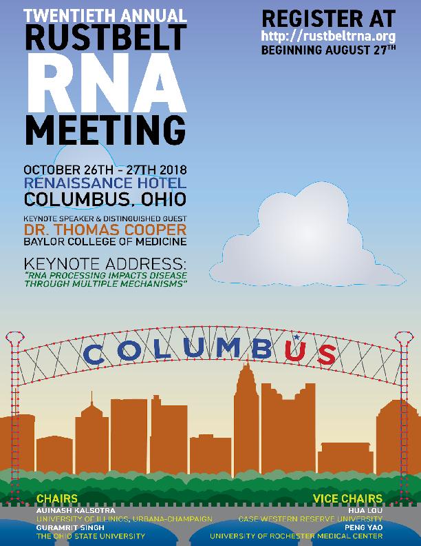Rustbelt RNA Meeting 2018