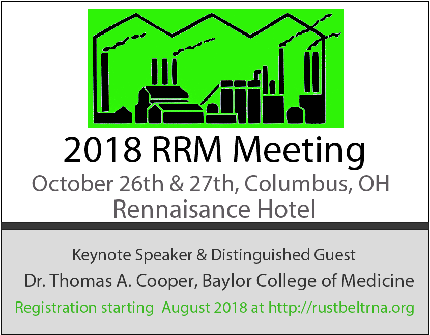 2018 RRM Save the Date notice